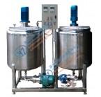 实验室30-100L双罐多功能分散乳化均质罐