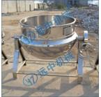 蒸汽夹层锅,搅拌夹层锅,可倾式搅拌锅,搅拌刮边夹层锅