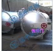 碳钢卧式单锅杀菌锅(手动,半自动)水浴式杀菌锅,卧式喷淋式单锅杀菌锅