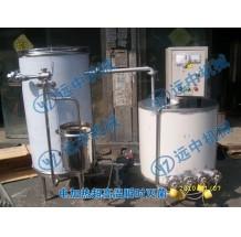 温州龙湾2T/H电加热超高温瞬时灭菌机