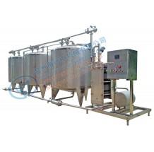 不锈钢分体式CIP清洗系统