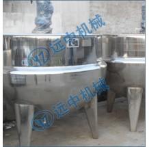 1000L不锈钢立式蒸气搅拌夹层锅