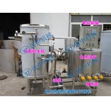 温州龙湾1T/H电加热超高温瞬时灭菌机