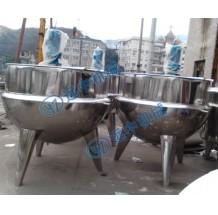 1000L立式蒸气搅拌夹层锅